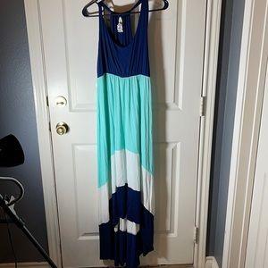 Maxi dress hi- low hem. NWT Brand Vanilla Bay